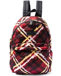 Marc By Marc Jacobs - Check Print Backpack - Lyst