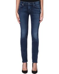Citizens Of Humanity Arielle Slim Mid Rise Jeans Hewett - Lyst