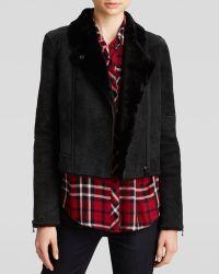 J Brand Jacket - Lana Shearling Leather - Lyst