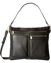 Fossil Piper Large Crossbody - Black