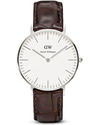 Daniel Wellington Classic York Watch, 36Mm brown - Lyst