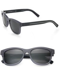 Dior Homme Black Tie Wayfarer Acetate Sunglasses - Lyst