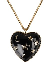 Moschino Necklace - Lyst