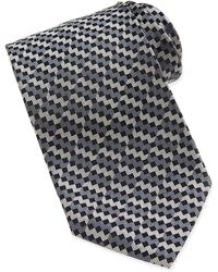 Missoni Mini-chevron Silk Tie - Lyst