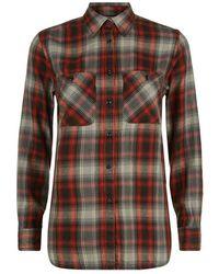 Denim & Supply Ralph Lauren Cotton Flannel Shirt - Multicolour