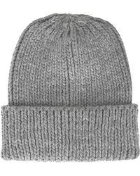 Topshop Fisherman Knit Beanie - Lyst