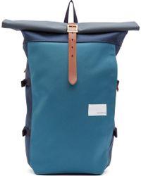 Nanamica Navy Cycling Backpack - Blue