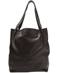 Cashhimi Leather Tote - Lyst
