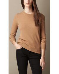 Burberry Cashmere Needlepunch Sweater - Lyst