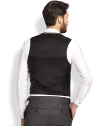 The Kooples Prince De Galle Wool Vest - Gray
