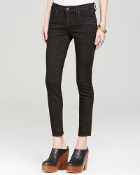 Free People Jeans  Roller Crop Skinny in Black - Lyst