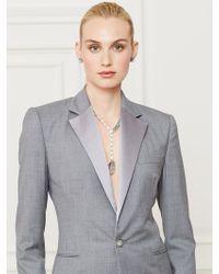 Ralph Lauren Collection Wool Bennett Tuxedo Jacket - Lyst