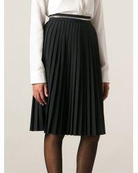 Givenchy Zipped Waist Skirt - Lyst