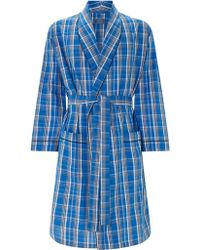 John Lewis - Billy Check Cotton Gown - Lyst