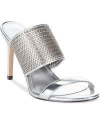 Enzo Angiolini Arianne Slide Dress Sandals - Lyst