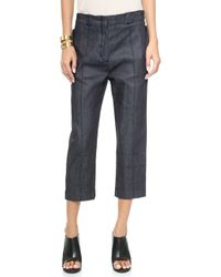 Citizens Of Humanity Astrid Cropped Jeans  - Lyst