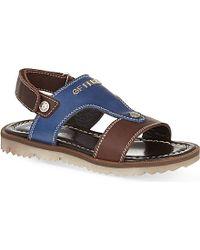Gianfranco Ferré Leather Sandals - For Men - Lyst