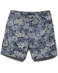 Forever 21 - Botanical Print Swim Trunks You've Been Added To The Waitlist - Lyst