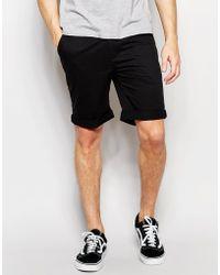 Bellfield Chino Short Pack Save - Black