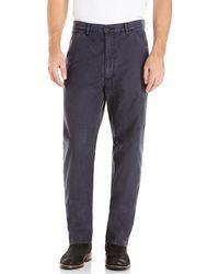 Comme Des Garçons Dark Grey Straight Leg Pants - Lyst