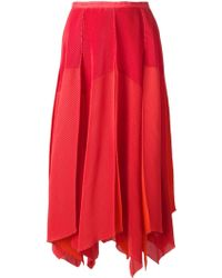 Issey Miyake 'Fete' Pleated Skirt - Lyst