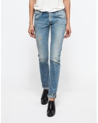 Citizens of Humanity Emerson Long In Glastonbury blue - Lyst