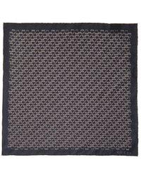 Gucci Horsebitprint Silk Pocket Square - Lyst