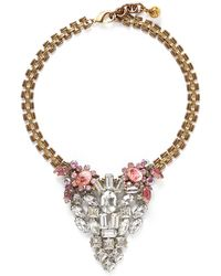 Lulu Frost '50 Year Vintage' Crystal Stone Necklace - Lyst