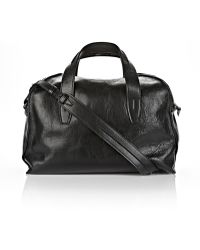 Alexander Wang Inside-Out Small Duffle In Black With Rhodium