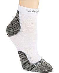 Calvin Klein Padded Running Anklet Socks - Lyst