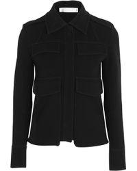 Victoria Beckham Crepe Jacket - Lyst