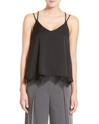 Chelsea28 Nordstrom - Lace Hem Camisole - Lyst