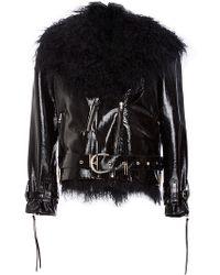 Houghton Rodolph Biker Jacket - Black