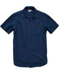 Faherty Brand Ss Stinson Workshirt - Lyst
