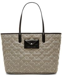 Marc By Marc Jacobs Metropolitote Straw 48 Tote - Lyst