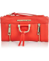 River Island Red Fold Over Purse - Lyst