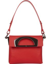 Christian Louboutin Mini Passage Messenger - Lyst