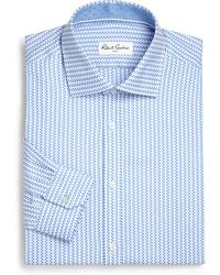 Robert Graham Regular-Fit Patterned Stripes Dress Shirt - Lyst