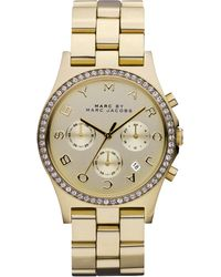 Marc By Marc Jacobs 40mm Henry Chronograph Watch - Lyst