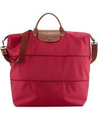 Longchamp Le Pliage Expandable Travel Bag - Lyst