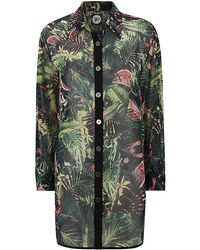 We Are Handsome Jungle Fever Silk Button Up - Lyst