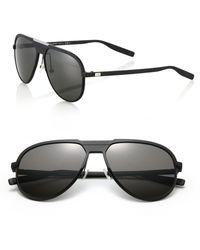Dior Homme | 136/s 59mm Mirror Aviator Sunglasses | Lyst