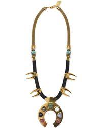 Lizzie Fortunato | Squash Blossom Necklace | Lyst