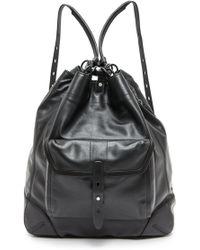 Rag & Bone Grayson Backpack  Black - Lyst