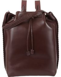 The Row - Drawstring Backpack - Lyst