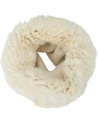 Barneys New York Reversible Rabbit Fur Cowl - Lyst