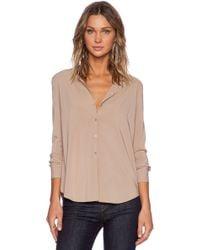 American Vintage Cody Long Sleeve Shirt - Lyst