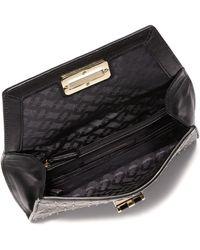 Diane von Furstenberg   440 Gallery Uptown Studded Leather Envelope Clutch   Lyst