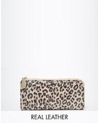 Ri2k | Leather Leopard Purse | Lyst