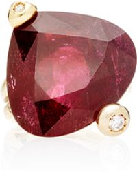 Helen Yarmak International - One Of A Kind Rubelite and Diamond Cocktail Ring - Lyst